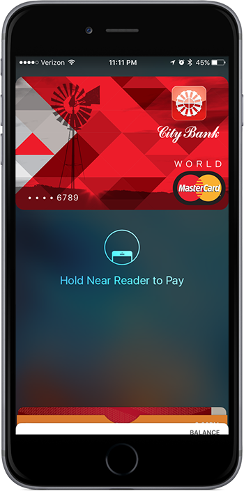 Apple Pay Apple Wallet City-Bank Consumer