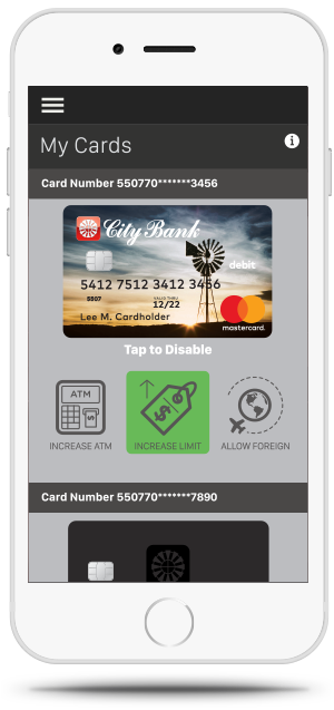 Debit Card Deactivate Mobile App