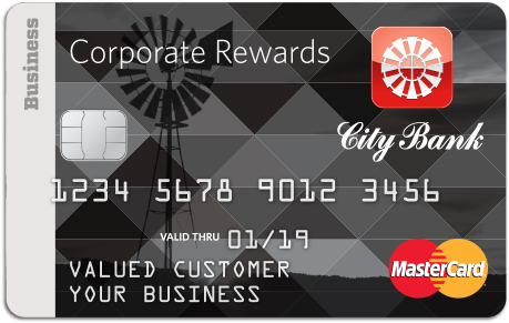 City Bank Credit Card Corporate Rewards