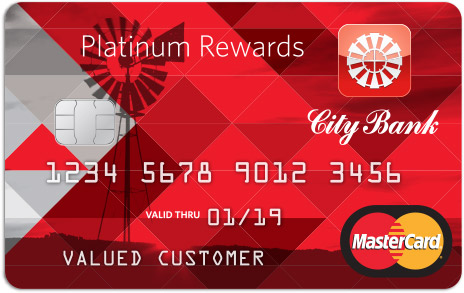 City Bank Credit Card Platinum Rewards