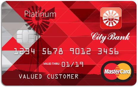 City Bank Credit Card Platinum