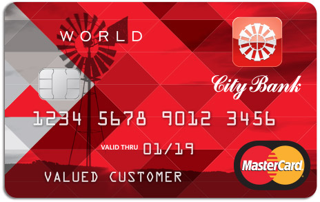City Bank Credit Card World