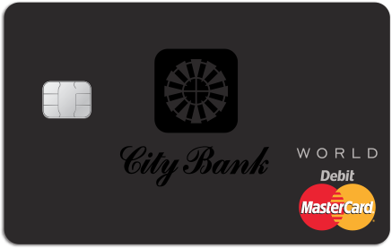 City Bank Private Banking World Debit