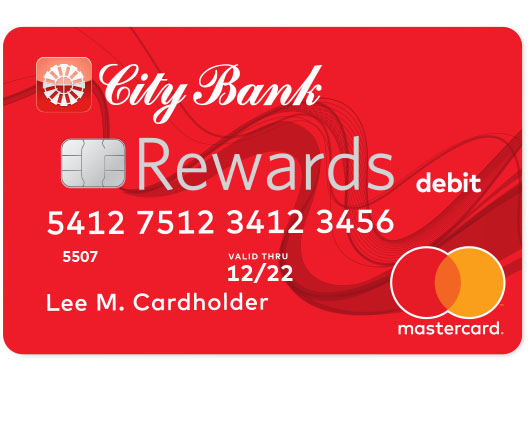 City Bank Rewards Debit Card